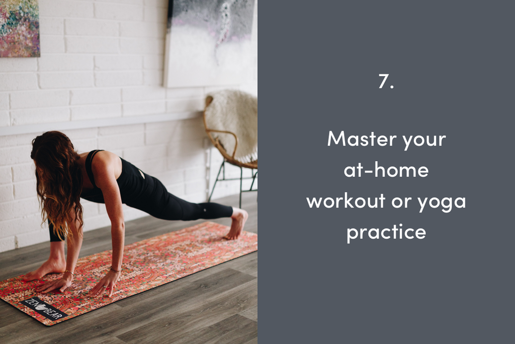 Master your at-home workout or yoga practice