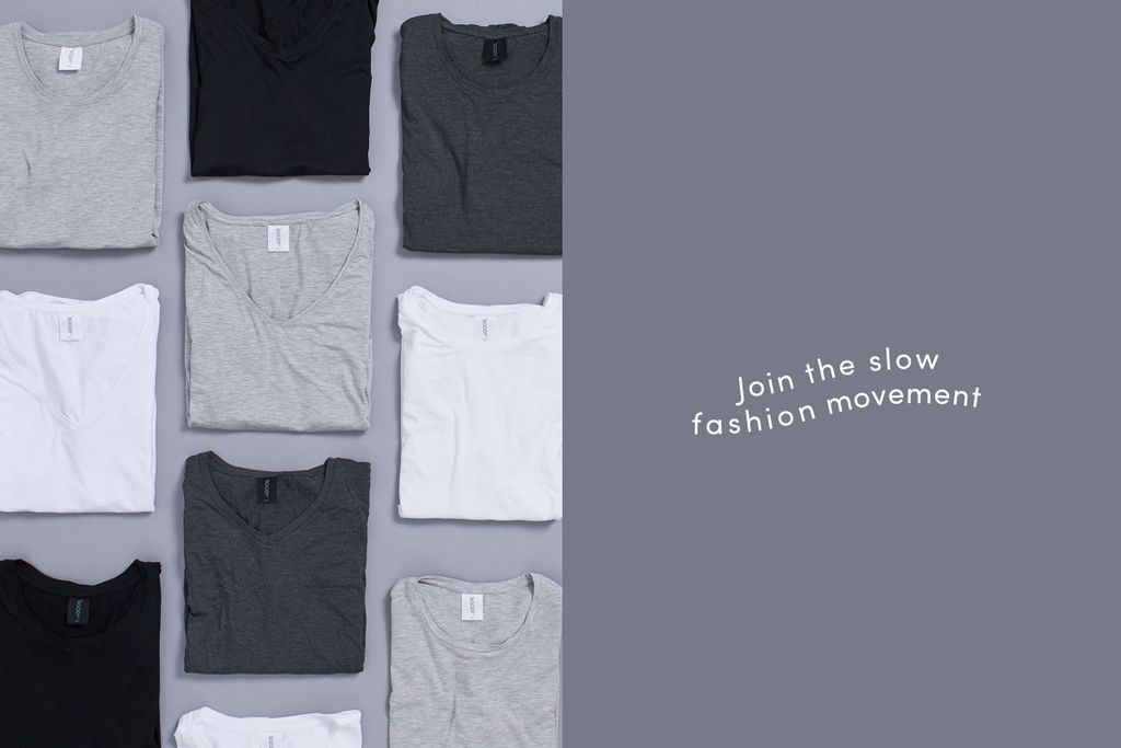 Join the slow fashion movement