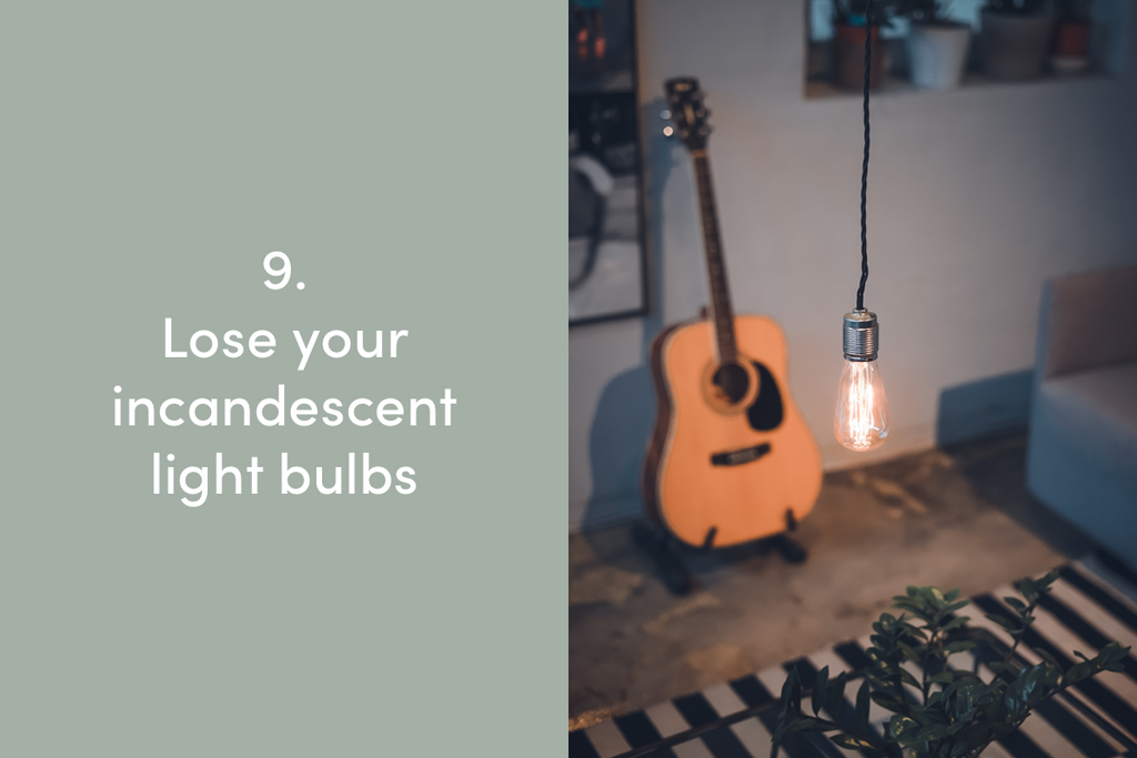 Lose your incandescent light bulbs