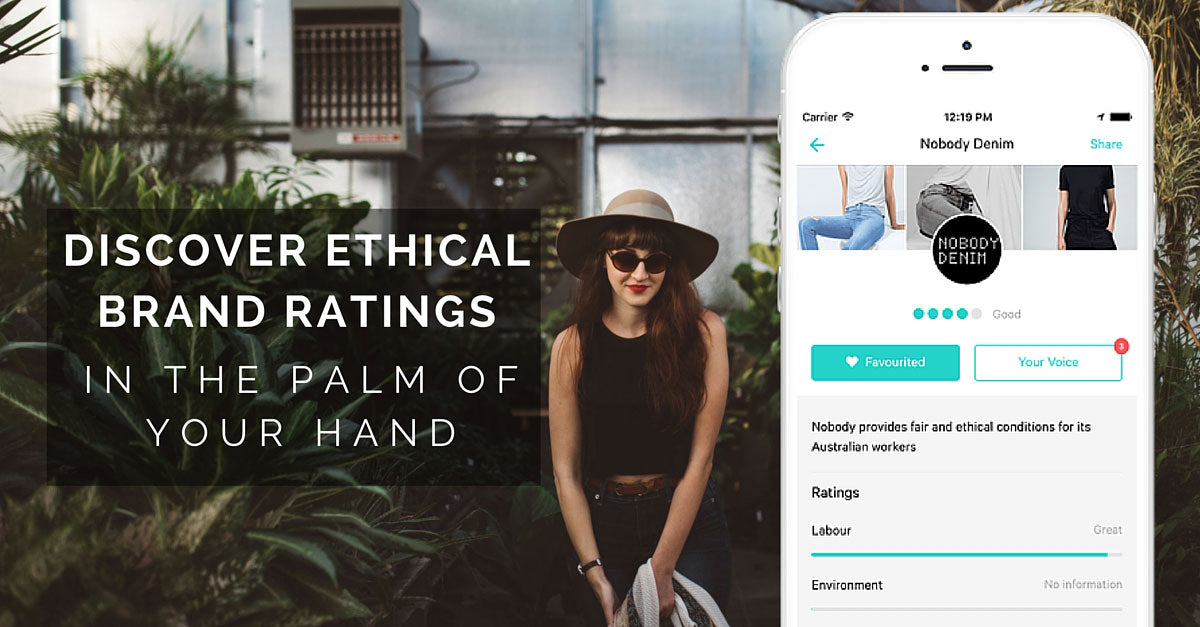 Ethical brands ratings - Good On You