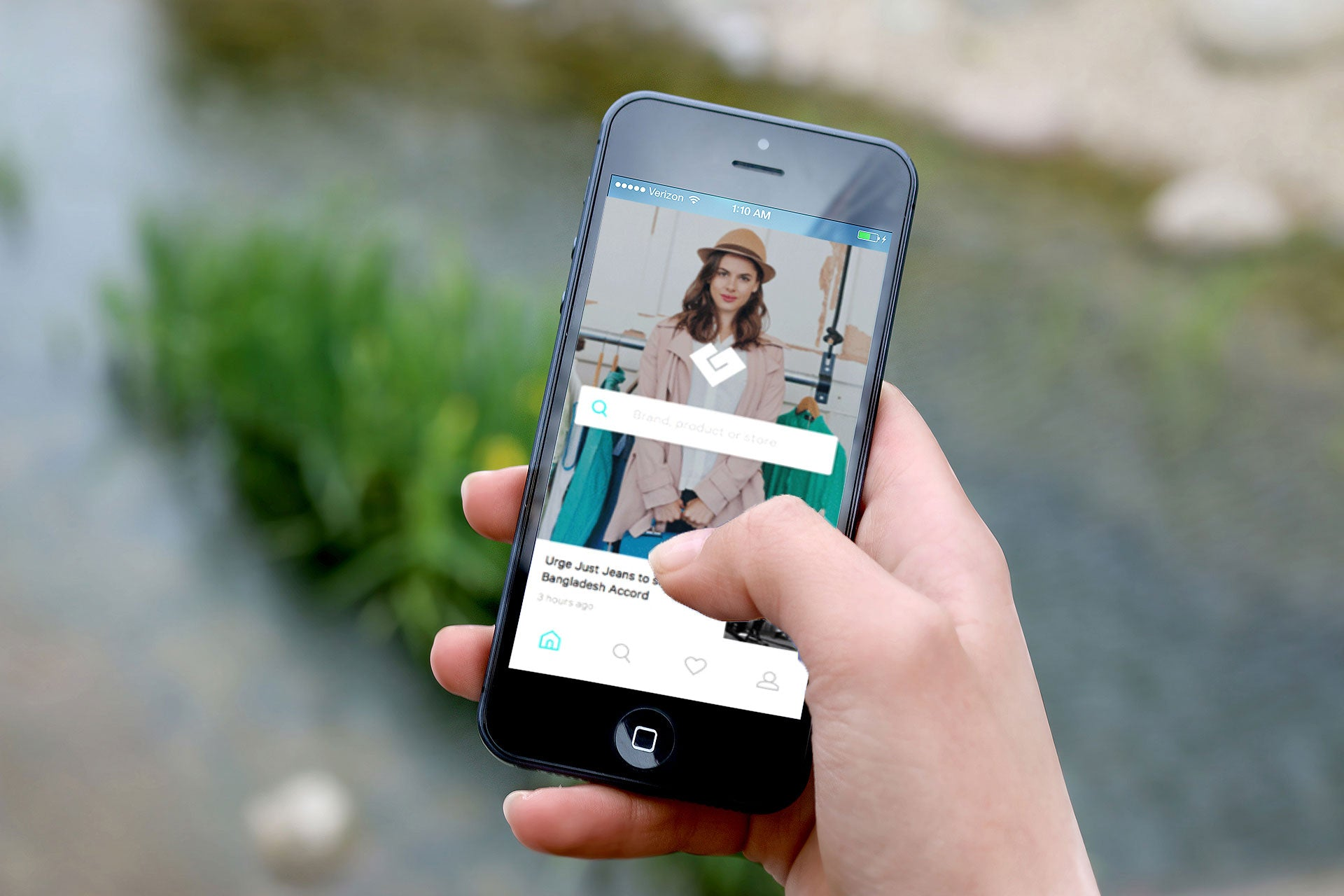 Discover ethical brands using the Good On You mobile app
