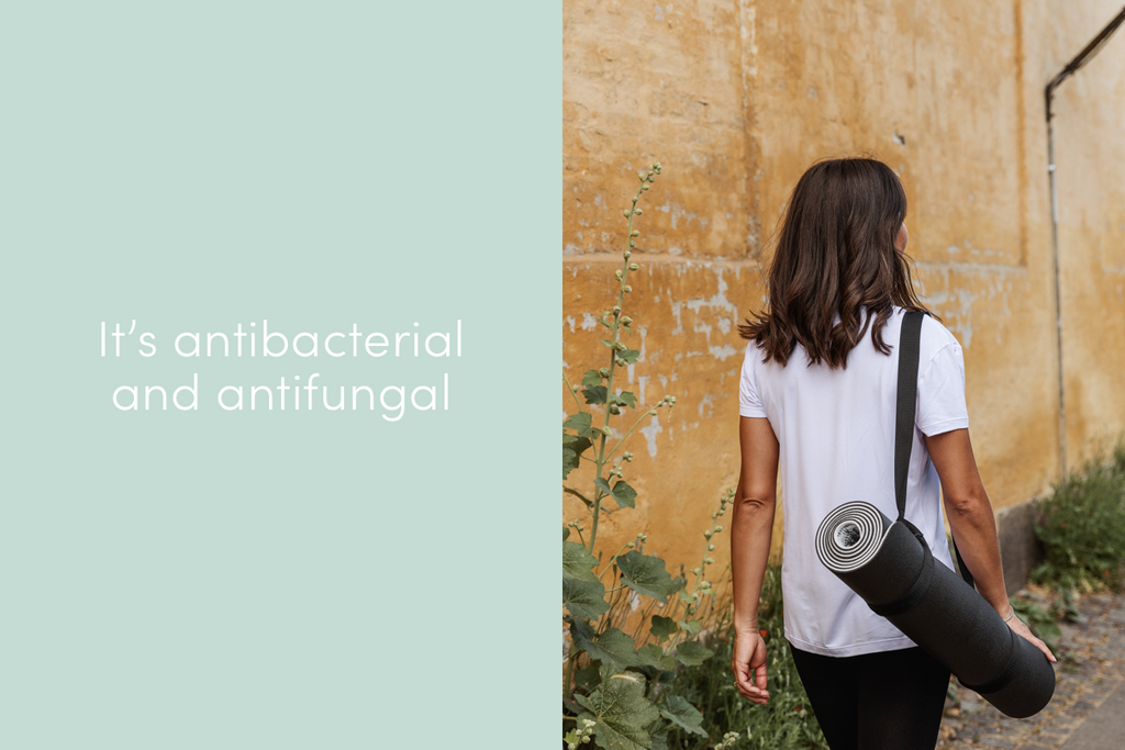 bamboo clothing is antibacterial and antifungal