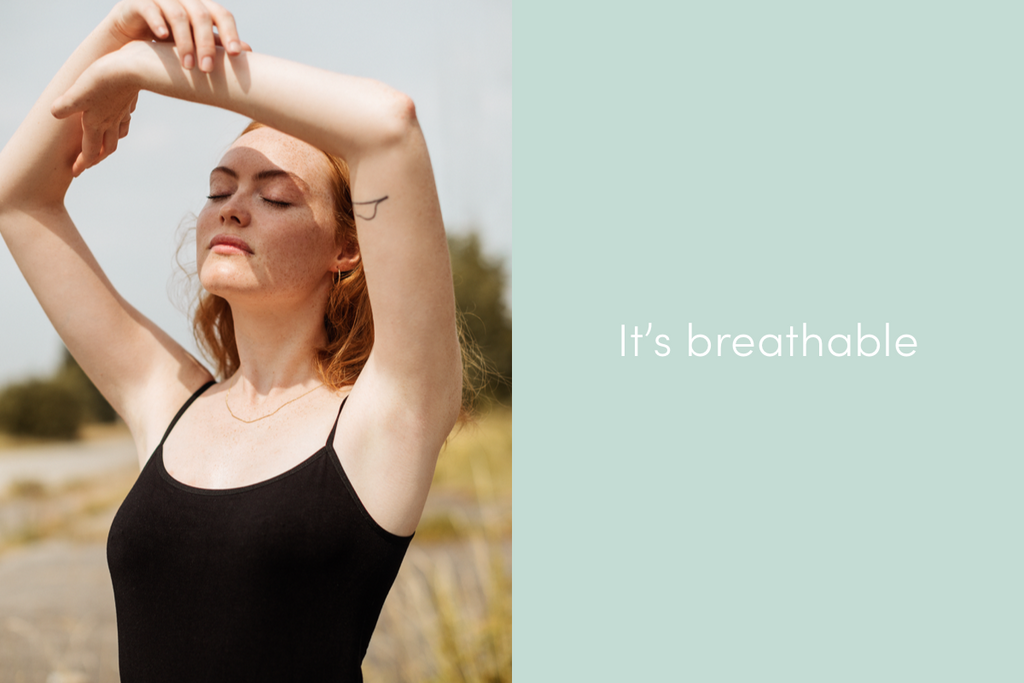 bamboo clothing is breathable