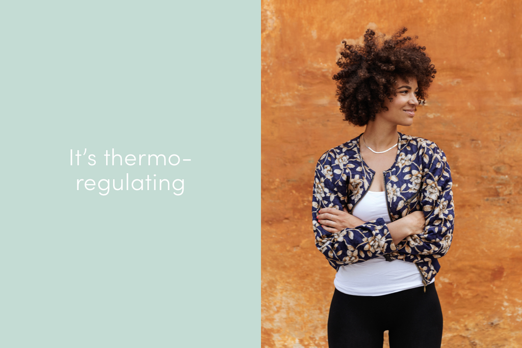 bamboo clothing is thermo-regulating