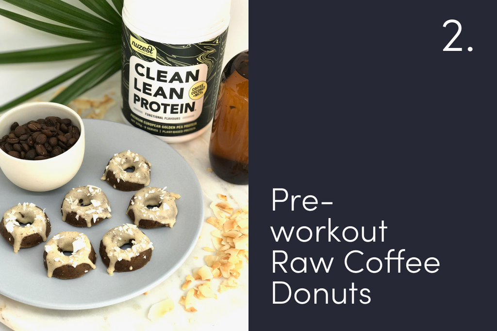 Pre-workout Raw Coffee Donuts