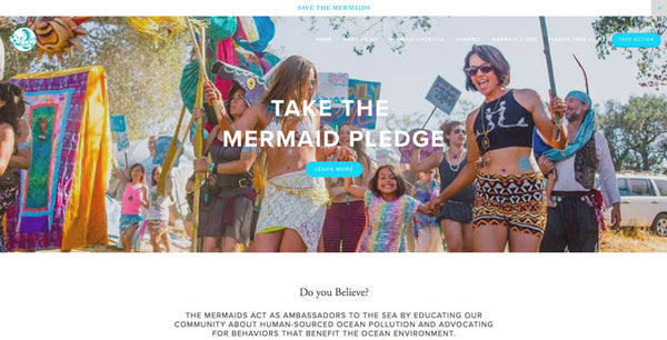 Take the Mermaid Pledge to Ban Plastic