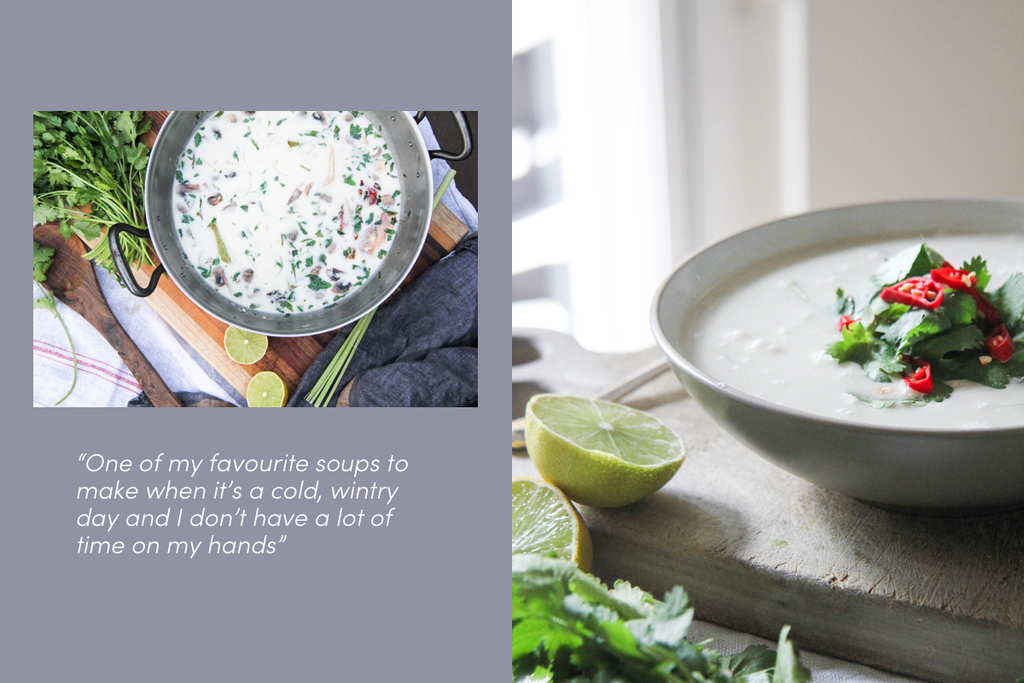 Tom Kha – Thai Coconut & Galangal Soup