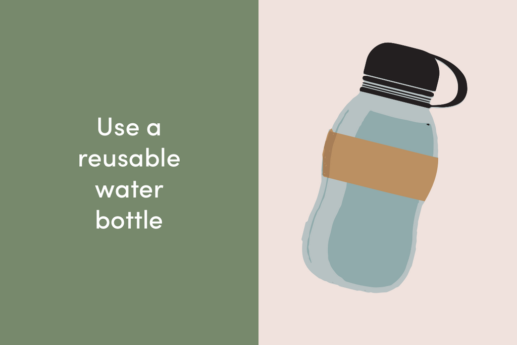 Use a reusable water bottle