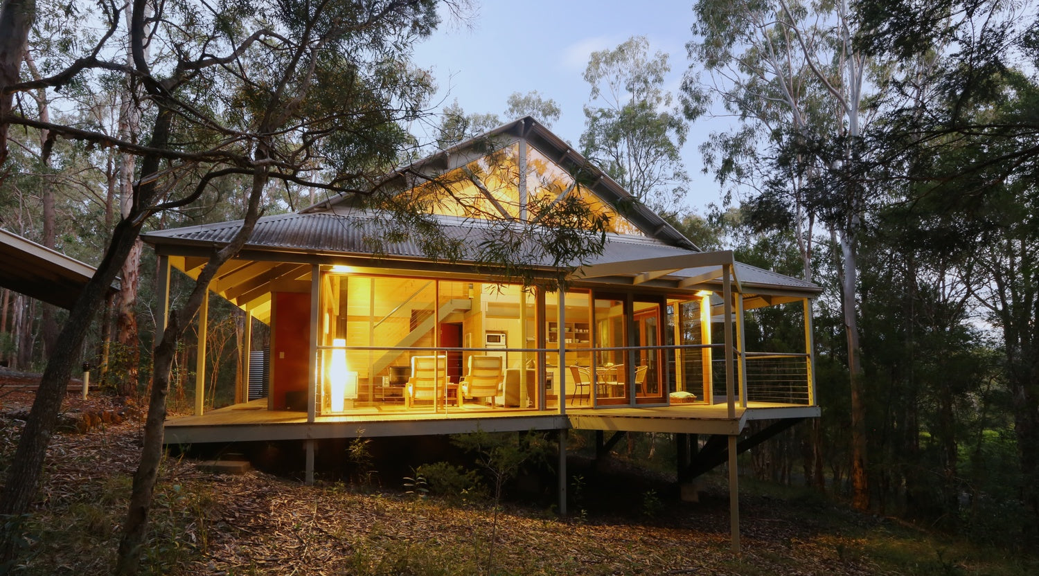 Bombah Point Eco Cottages, Myall Lakes National Park