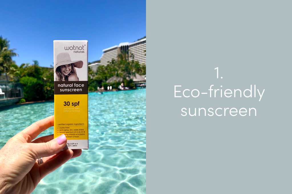 Eco-friendly sunscreen