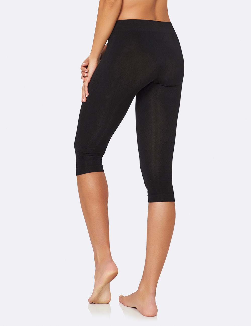 Crop Leggings Black - Boody Eco Wear