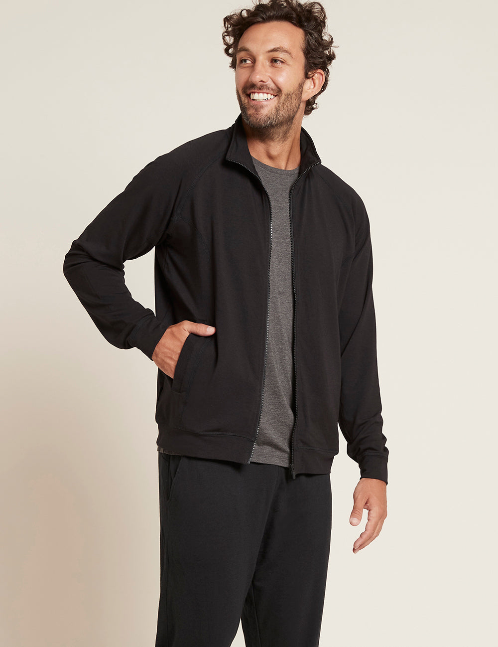 Men's Essential Zip-Up Jacket