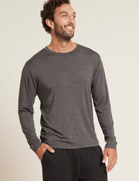 Men's Long Sleeve Crew Neck T-Shirt