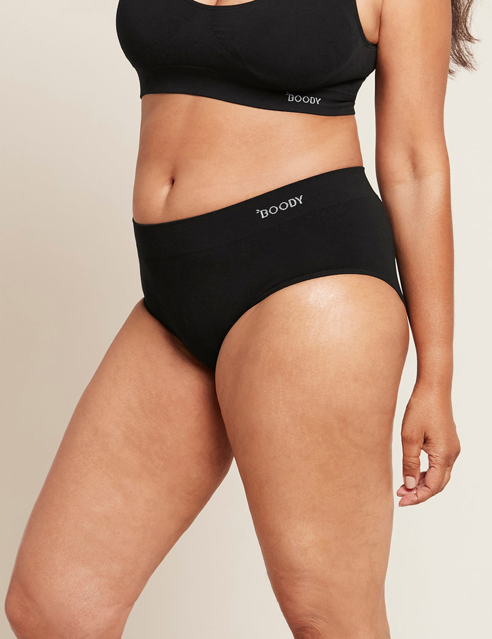 Midi Brief Black - Boody Eco Wear