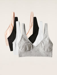 4-Pack Shaper Crop Bra
