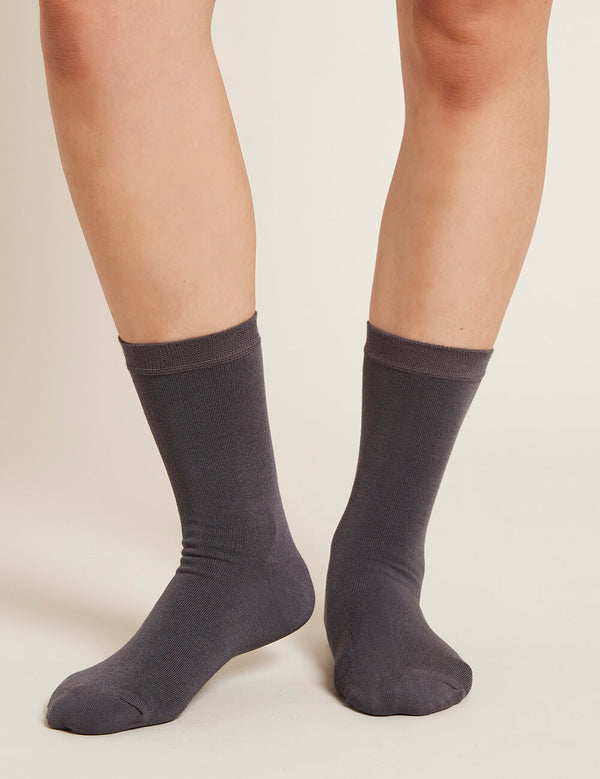 Women's Everyday Sock - Slate - Boody Eco Wear