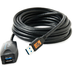 Tether Tools 16' TetherPro USB 3.0 Active Extension Cable (Black)