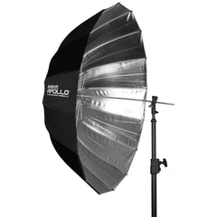"Westcott 43"" Apollo Deep Umbrella with Silver Interior"