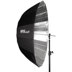 "Westcott 53"" Apollo Deep Umbrella with Silver Interior"
