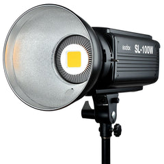 Godox SL-100W LED Video Light with Bowens Mount - White