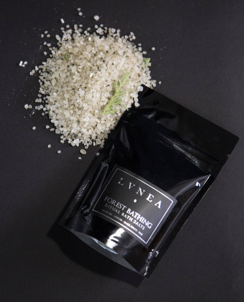 LVNEA - Ritual Bathing Salt - Forest Bathing - Apothecary Sample - Natural Perfume