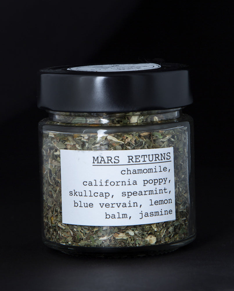 Mars Returns Herbal Infusion - Blueberryjams