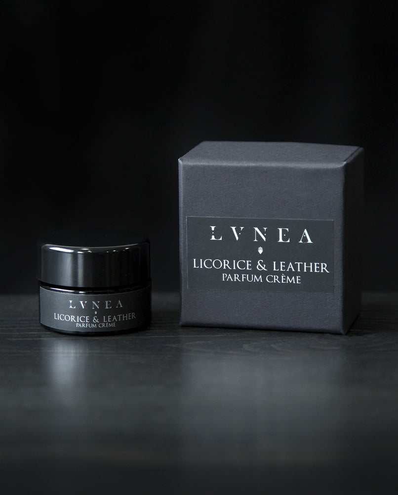 LVNEA - Parfum Creme - Licorice and Leather - Solid Perfume - Natural Perfume