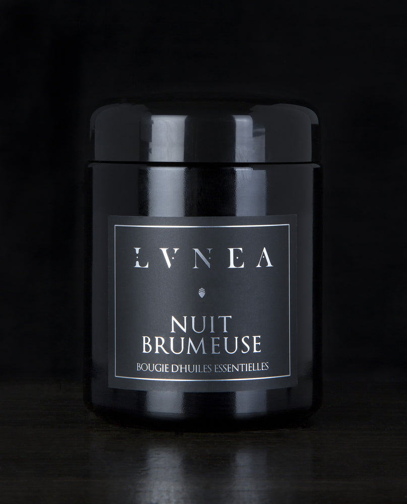 NUIT BRUMEUSE | Essential Oil Candle - guaiac, cedar, peppermint