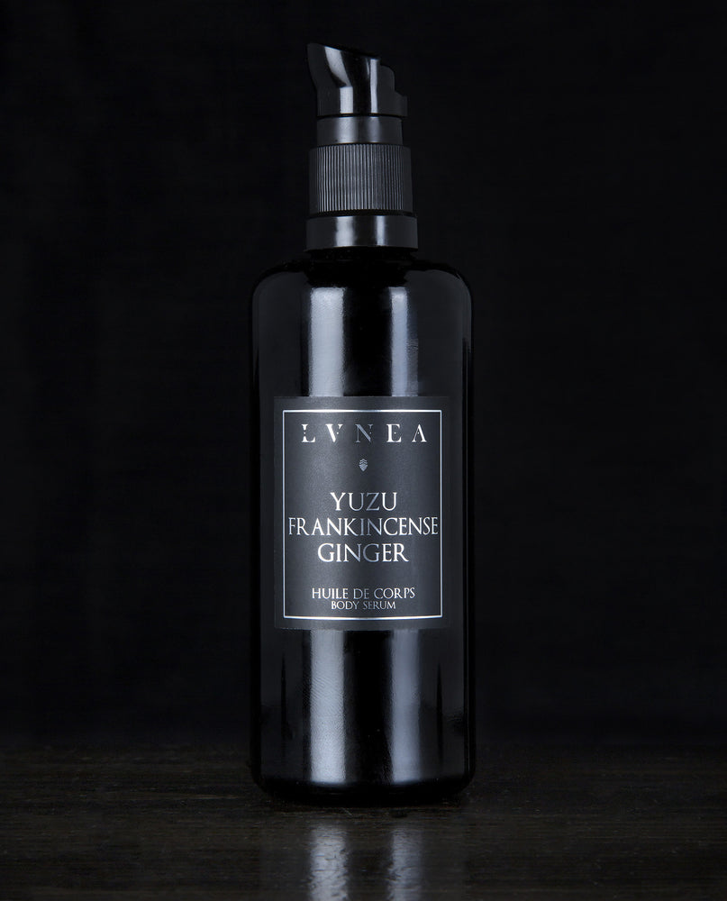 LVNEA - Body Serum - Yuzu Frankincense Ginger - Botanical Oils