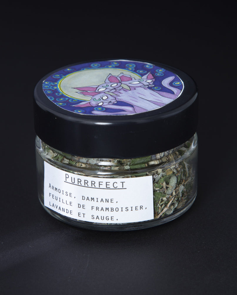 Purrrfect Burn Blend - Blueberryjams