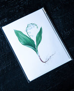 Lily of the Valley Greeting Card - Open Sea Designs