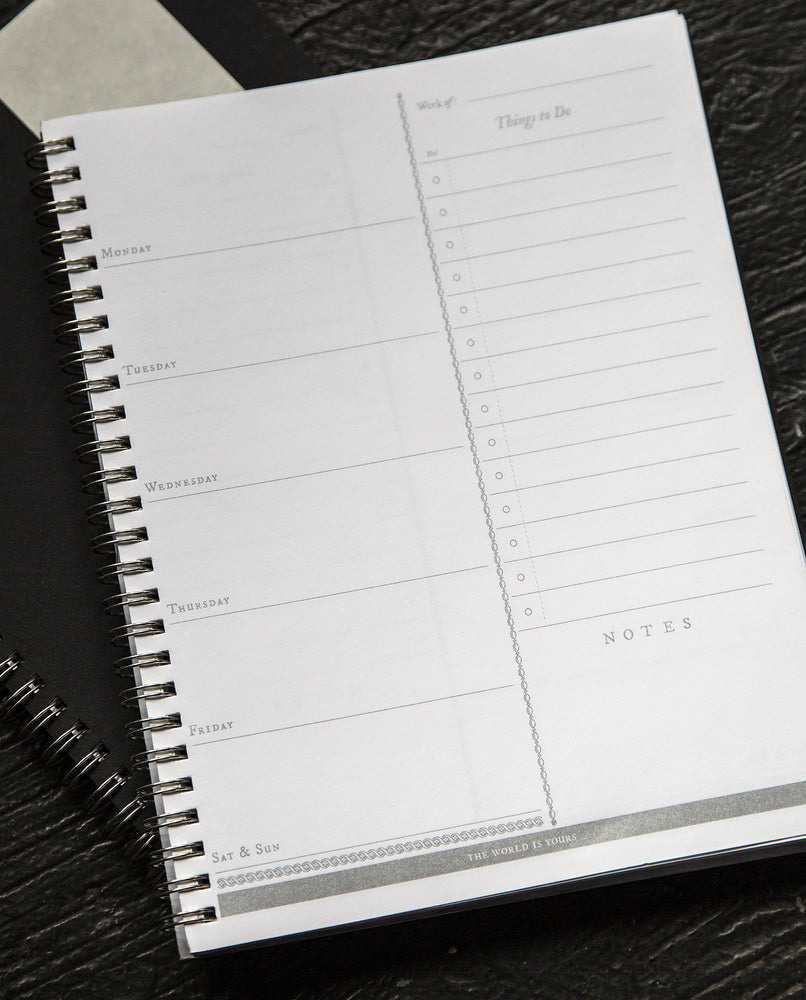 Luminaries Weekly Planner - Open Sea Designs