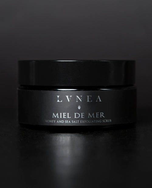 Lvnea - Miel de Mer - Honey and Sea Salt Exfoliant Scrub - Apothecary - Natural Perfume