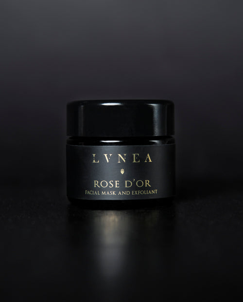 LVNEA - Facial Mask Exfoliant - Rose d'Or - Apothecary - Natural Perfume
