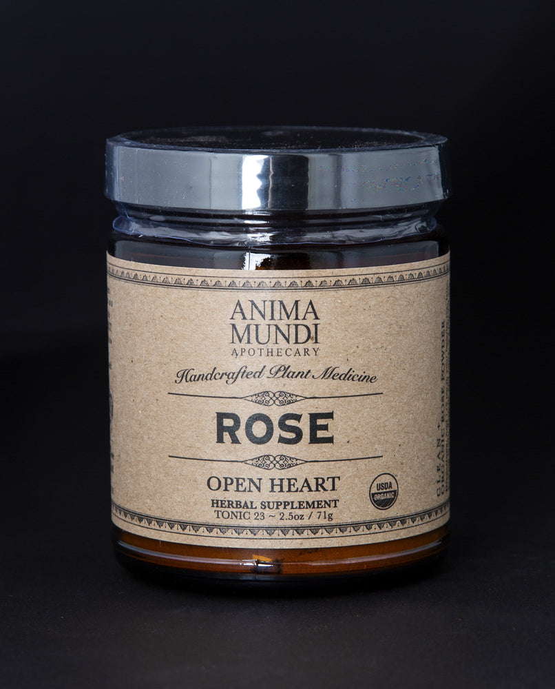 Rose Powder by Anima Mundi Apothecary