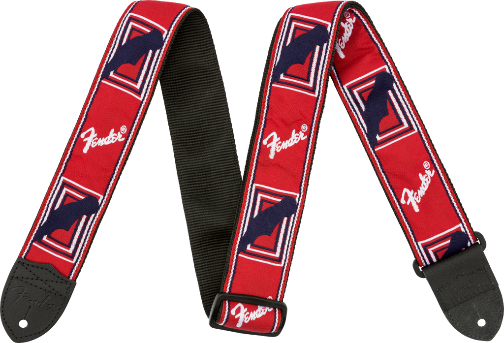 Fender Monogrammed 2inch Strap - Various Colours