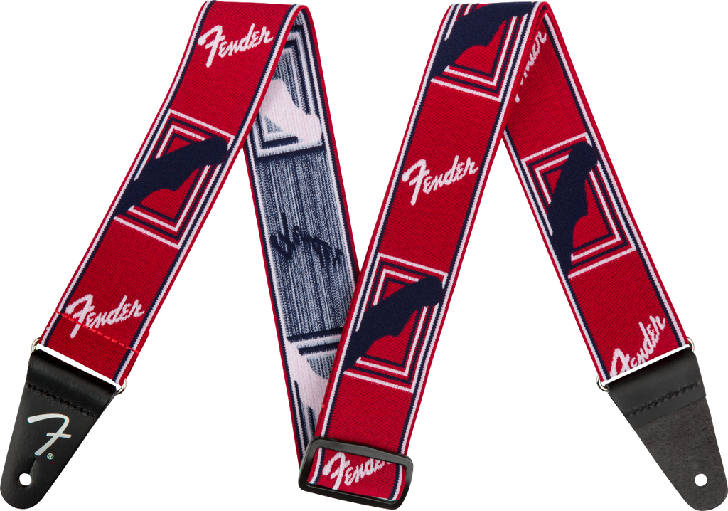 Fender WeighLess Monogrammed Strap - Various Colours