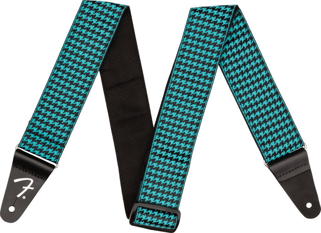 Fender Houndstooth Jacquard Strap - Various Colours