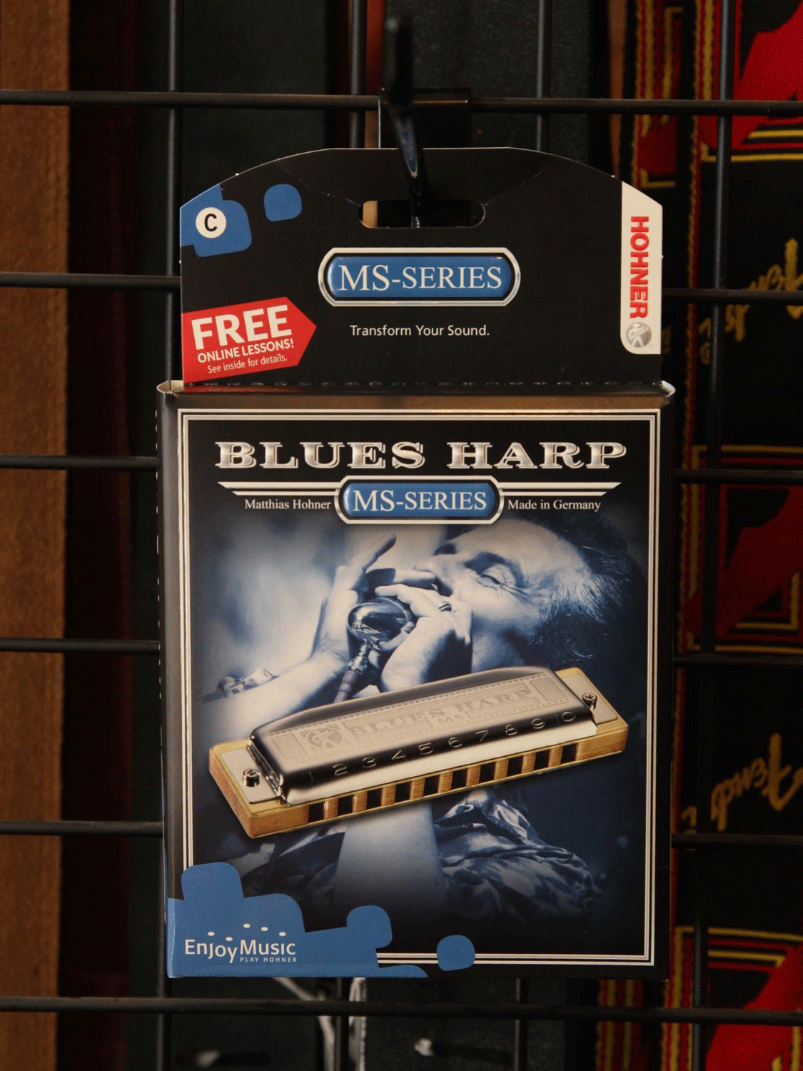 Hohner Blues Harp Harmonica - The Rock Inn