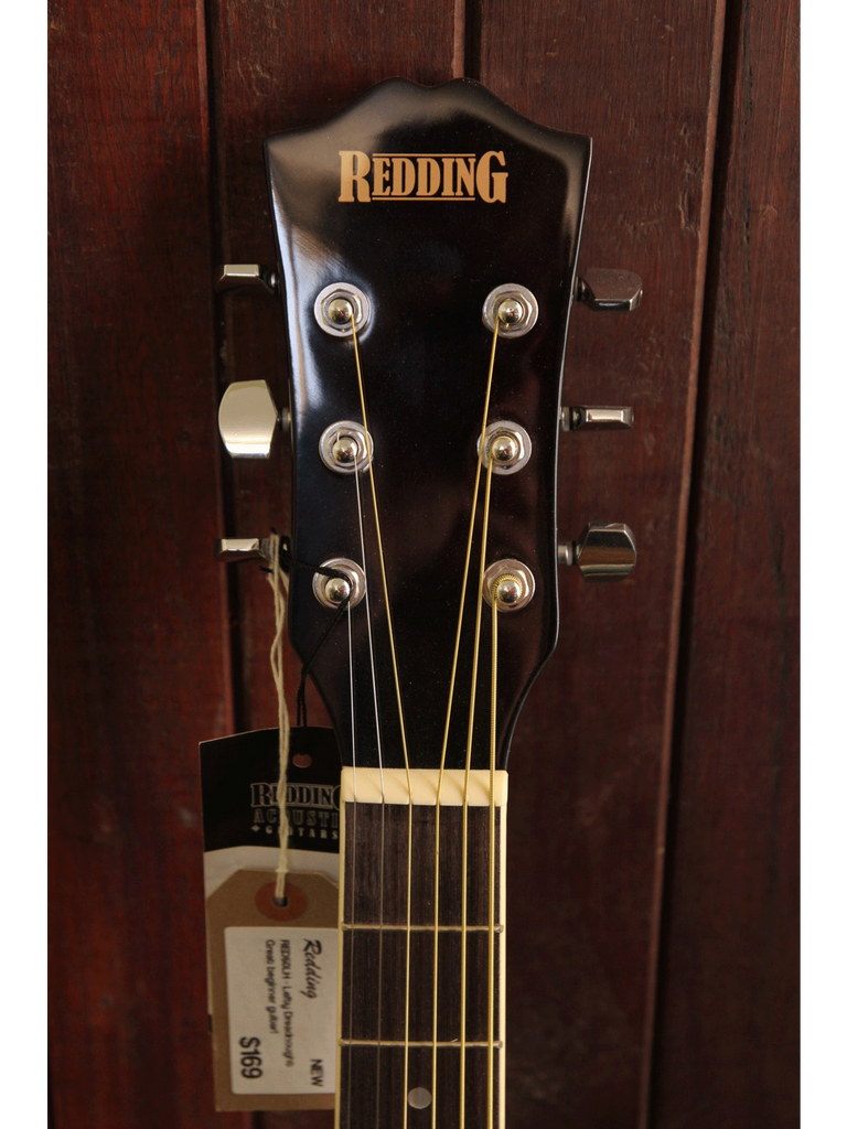 Redding RED50TS-LH Dreadnought Left Handed Acoustic Guitar - The Rock Inn - 3
