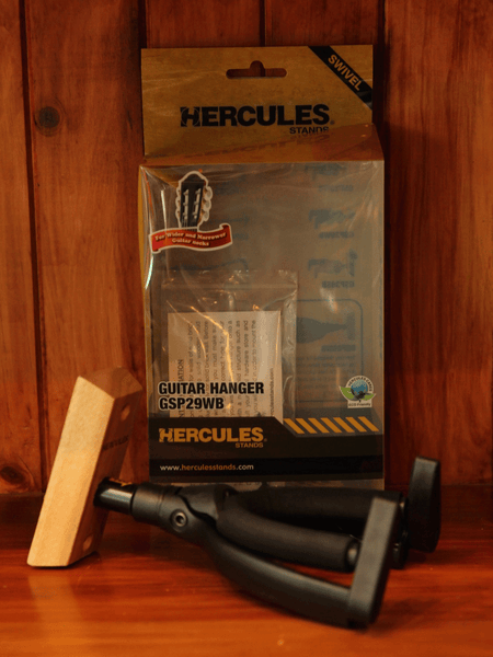 Hercules Guitar Wall Hanger - The Rock Inn