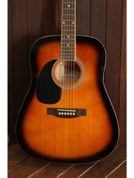 Redding RED50TS-LH Dreadnought Left Handed Acoustic Guitar - The Rock Inn - 1
