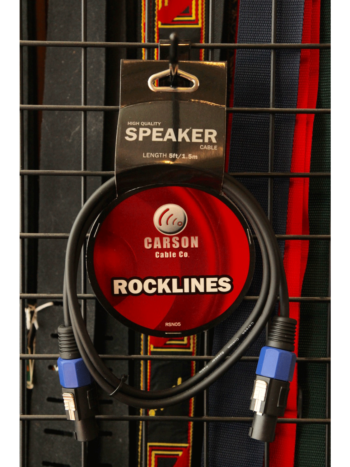 Carson Speakon Speaker Cable 5ft RSN05 - The Rock Inn