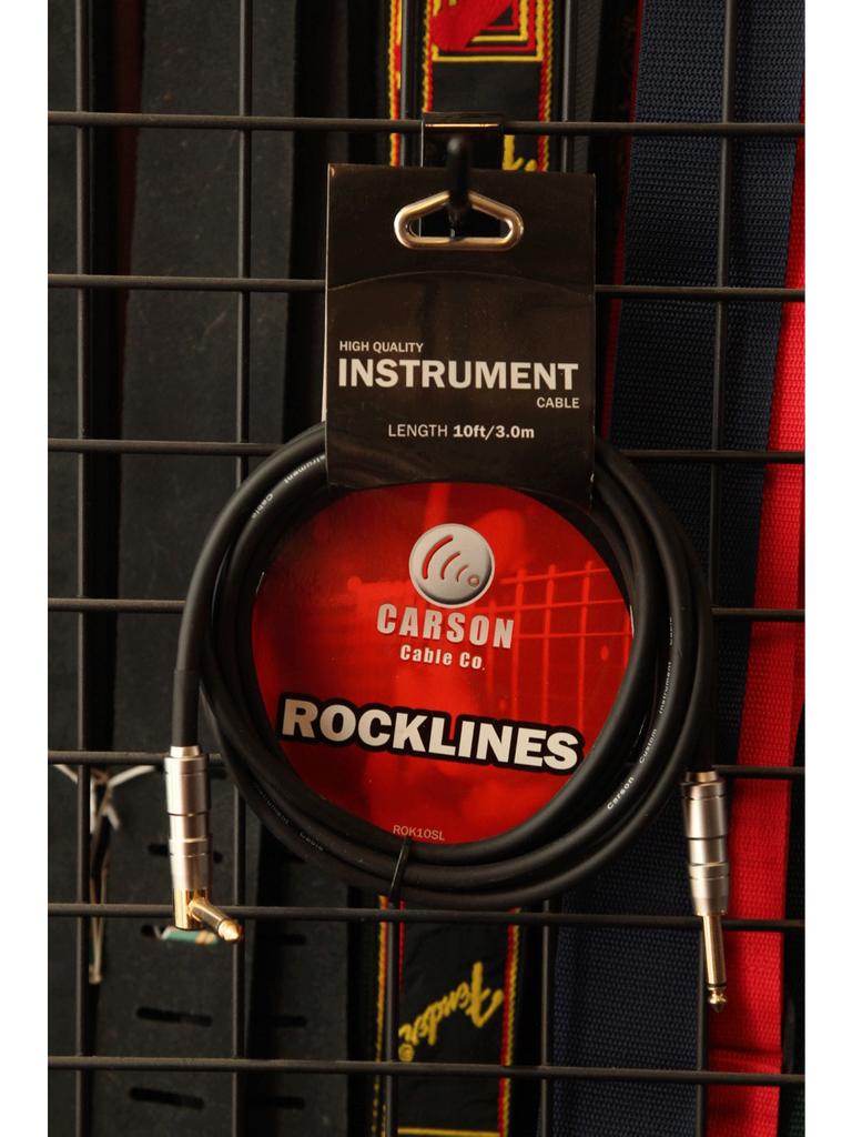 Carson Instrument Cable 10ft - The Rock Inn