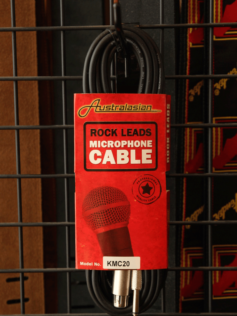 AMS Microphone Cable 20ft XLR-1/4 - The Rock Inn
