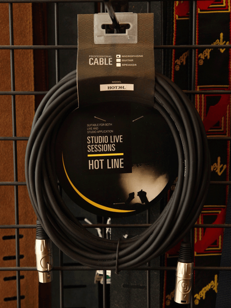 HotLine Microphone Cable HOT30L 30ft XLR-XLR Cable - The Rock Inn