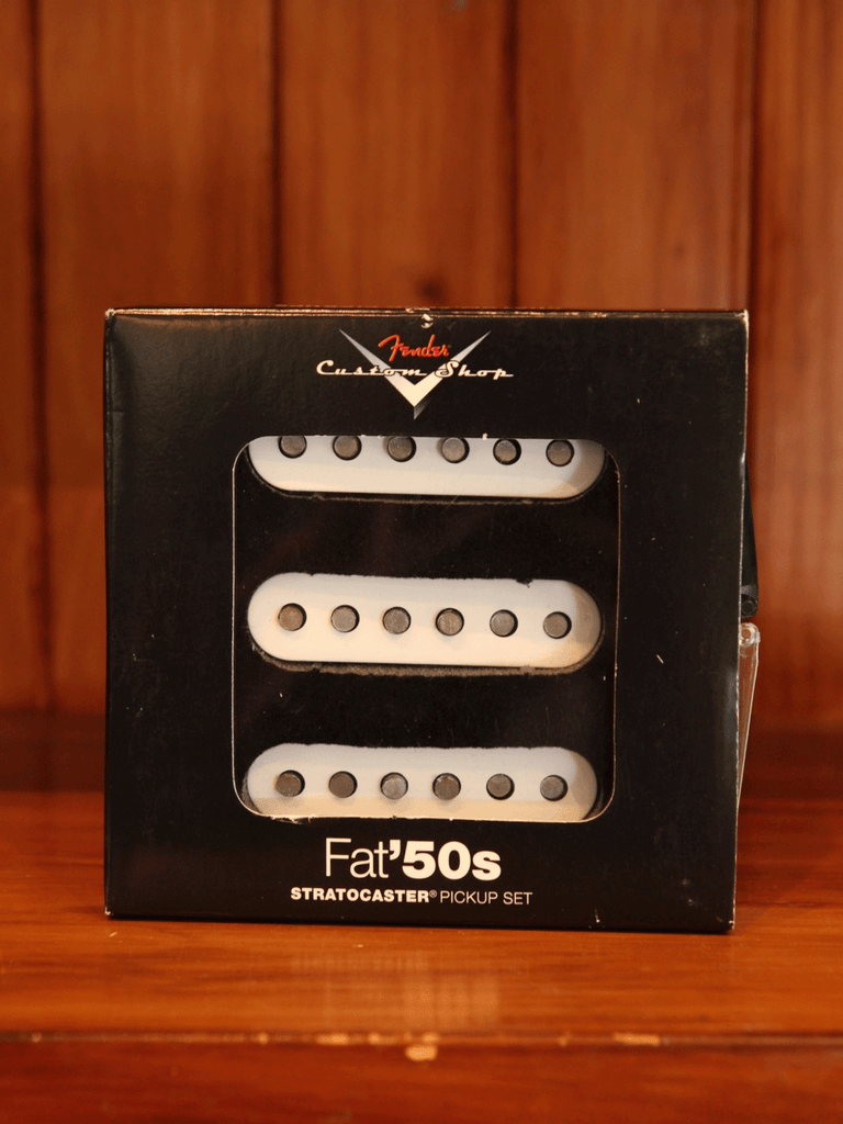 Pickup - Fender Custom Shop Fat '50s Strat Pickup Set - The Rock Inn