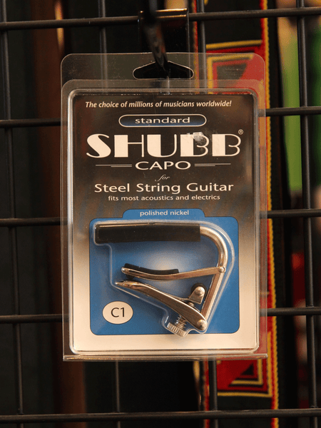 Shubb C1 Acoustic Guitar Capo - The Rock Inn