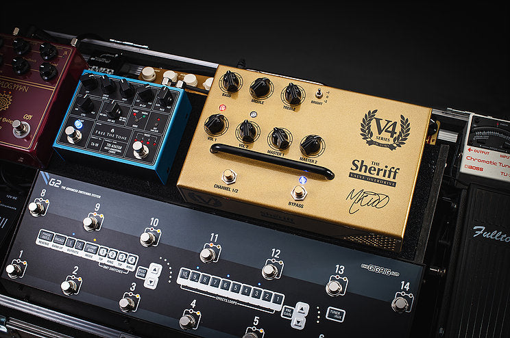 Victory V4 The Sheriff Amplifier Preamp Pedal