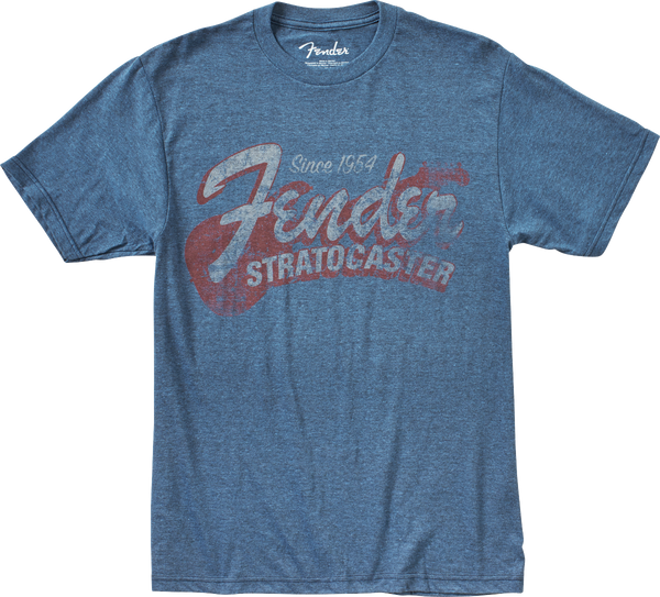 Fender Since 1954 Strat T-Shirt, Blue